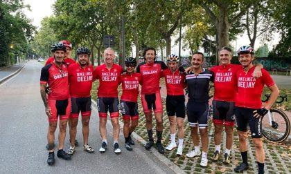 Milano-Riccione in bici con Linus: unica donna l'aronese Luisa Fumagalli