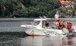 Nuotatore disperso nel Lago D'Orta: individuato un corpo a 137 metri di profondità