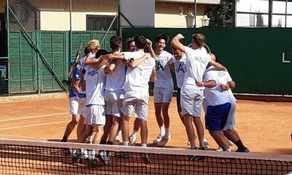 Tennis Piazzano in festa: la serie A2 è realtà!