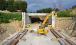 Borgomanero: posizionati i monoliti per i sottopassi ferroviari
