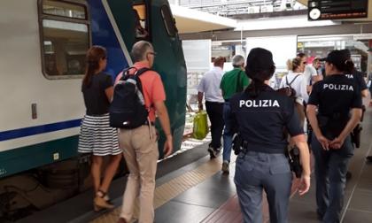 """Anche a Novara è in corso l'operazione di polizia ferroviaria """"Stazioni sicure"""""""
