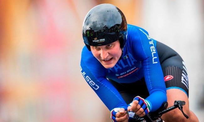 Elisa Longo Borghini di bronzo ai Mondiali di Imola