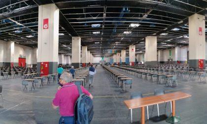 I test di ingresso universitari con la protezione civile a Novara e a Torino