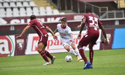 Un bel Novara a testa alta con il Torino