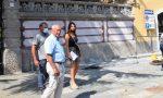 Gozzano inaugura il nuovo arredo urbano
