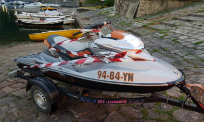 Guardia costiera multa acquascooter a Lesa: era senza assicurazione