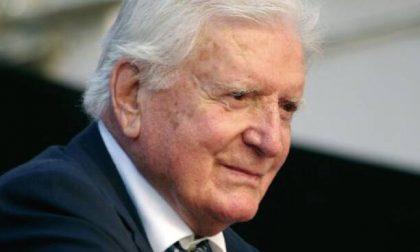 E' morto Sergio Zavoli: nel 2008 ad Arona per il premio alla carriera Omodei Zorini