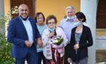 Gli auguri di Borgomanero per i 100 anni di Giuseppina Tarantola