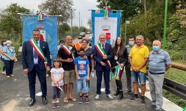 Sul ponte tra Varallo e Divignano è tornata la pace