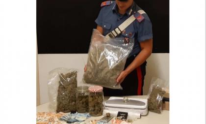 Cerano arrestato operaio 23enne: nella sua casa 1.5 kg di marijuana