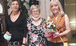 Il riconoscimento dell'Auser di Borgomanero per l'assistente sociale Moia