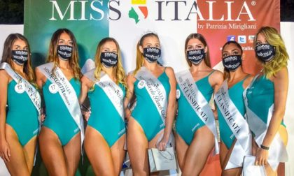 Prima selezione di Miss Italia 2020.. in mascherina: terza una novarese