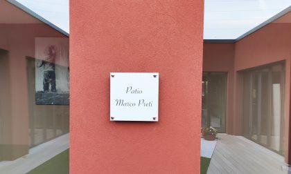 Il patio di Casa Irene è dedicato al designer Marco Preti