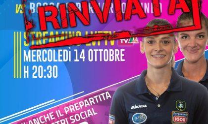 Igor Volley rinviato il derby con Cuneo: un caso di positività al Covid