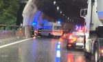 Incidente in A26 a Meina: lunghe code VIDEO