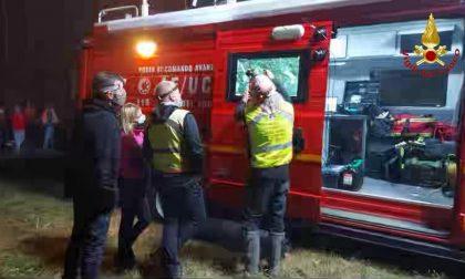 Vigili del fuoco ritrovano persona dispersa nella campagna di Momo