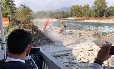 Ponte di Romagnano: ricostruirlo costerà 20 milioni