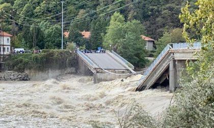 Ponte provvisorio per collegare Vercelli a Novara