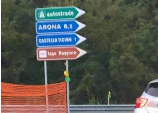 Anas cambia nome a Castelletto: sui cartelli diventa… Castello Ticino