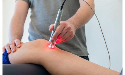 Laserterapia per pazienti in riabilitazione alla Casa di Cura I Cedri di Fara Novarese