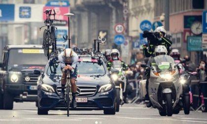 """Filippo Ganna stravince l'ultima tappa del Giro d'Italia: """"Dedico il successo al mio Piemonte"""""""