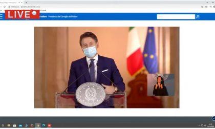 Abolita la seconda rata dell'Imu: la conferenza del presidente Giuseppe Conte