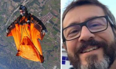Con la tuta alare si schianta contro le rocce: morto 46enne