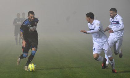 Il Novara calcio si smarrisce nella nebbia