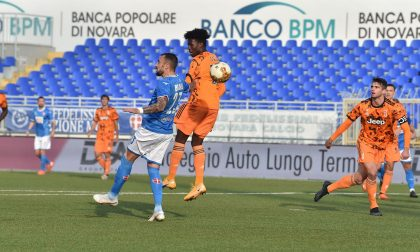 Per il Novara calcio un pari con tante emozioni e rimpianti
