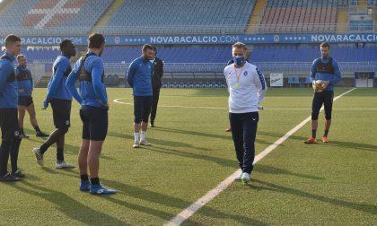 Novara Calcio, Marcolini prepara il debutto con la Juve U23