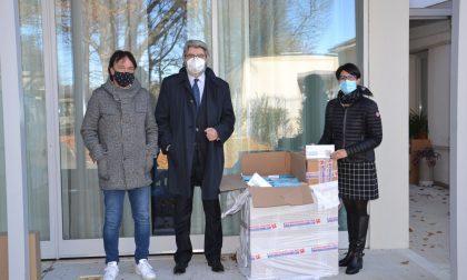 Azienda borgomanerese dona al Ciss di via Libertà 5mila mascherine