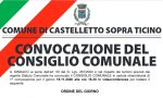 Consiglio comunale in remoto domani a Castelletto