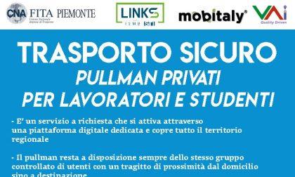 """CNA Piemonte: """"Pullman privati per trasporto di studenti e lavoratori: aspettiamo autorizzazione dalla Regione"""""""