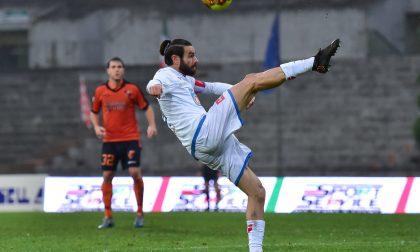 Il Novara calcio cade a Pistoia
