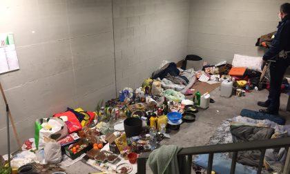 Tre senzatetto si accampano al Centro commerciale di Veveri: sgomberati