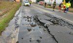 Novara perdita d'acqua in corso Trieste: circolazione interrotta