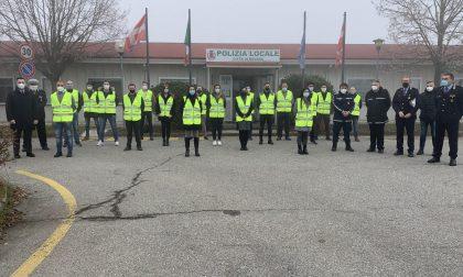 Novara 19 nuovi agenti di polizia locale