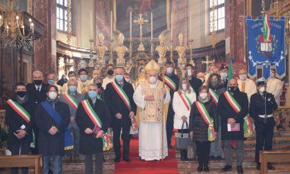 A Gozzano la patronale con il vescovo Franco Giulio Brambilla e i sindaci della Riviera