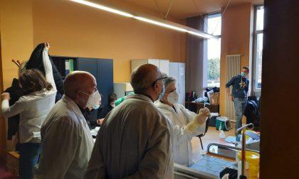 Opera Pia Curti: vaccinati 10 ospiti e 11 operatori
