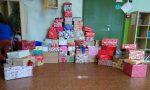 Scatole di Natale anche dalla primaria di Nebbiuno per la rete Nondisolopane
