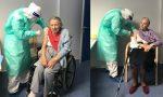 Rsa di Momo: tra i vaccinati c'è anche Nonna Maria di 93 anni
