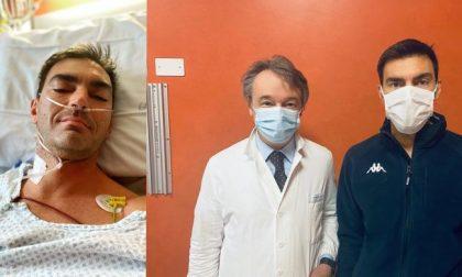 Gabry Ponte a casa: l'operazione al cuore alle Molinette è andata bene
