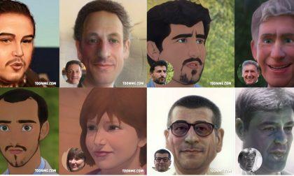 Personaggi novaresi: come sarebbero in versione cartoon