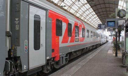 Treno internazionale Riviera Express: Francia-Svizzera-Germania con fermata ad Arona