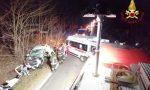 Incidente a Borgomanero: vigili del fuoco estraggono una persona dalle lamiere