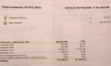 "Bolletta ""pazza"" a Vercelli: 90mila euro di gas"