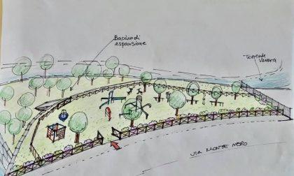 Arona nuovo parco per adulti e bambini in zona Sacro Cuore