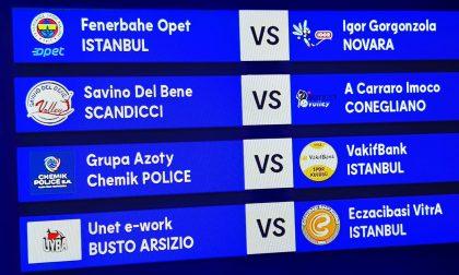 La Igor Volley trova il Fenerbahce nei quarti di Champions