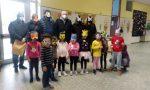 A Gozzano per il Carnevale dei bambini mascherine e dolcetti nelle scuole