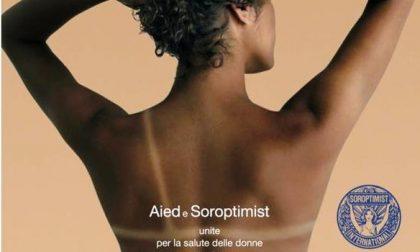 Aied e Soroptimist Novara uniti contro il cancro